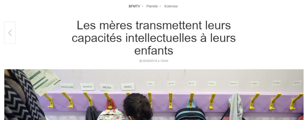 intelligence-mere-bfmtv